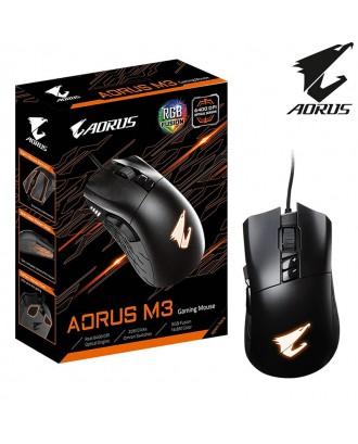 Aorus M3 ( 6400 DPI / Omron Switch / RGB Fusion 2.0 )