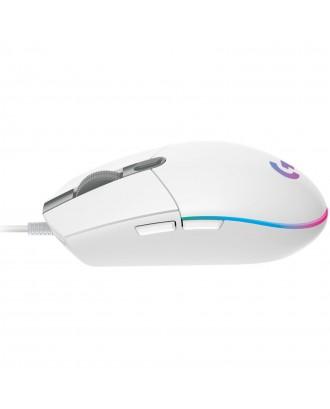Logitech G102 Lightsync White Gaming Mouse