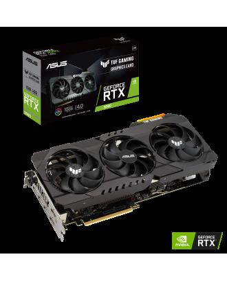 Asus TUF GeForce RTX 3080 10GB LHR ( 10GB GDDR6X  / 320bits / Three Fans )