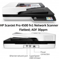 HP ScanJet Pro 4500 fn1 Network Scanner...