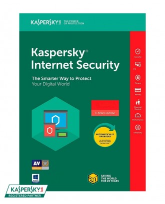 Kaspersky Internet Security KIS 1User