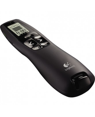 Logitech R800 Pro Presentation Remote with LCD Display