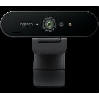 Logitech BRIO Ultra 4K Webcam Video Conferencing ...
