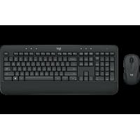 Logitech M545 USB Wireless Multimedia Keyboard + M...