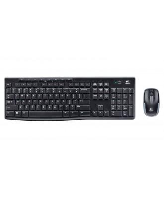 Logitech MK270r Wireless Combo Keyboard+ Mouse
