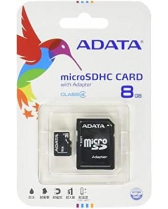 ADATA Micro SD 8GB Class 10 memory card