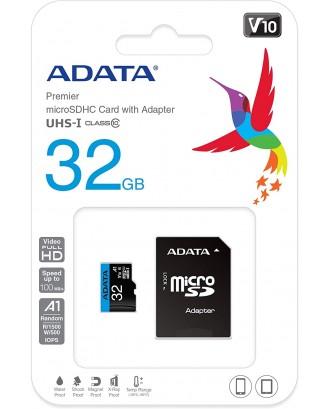 ADATA Micro SD 32GB  Class 10 memory card