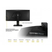 """Asus TUF Gaming VG35VQ 35"""" Curved HDR Monitor 100H..."""