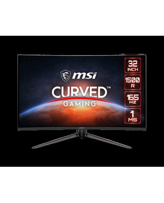 """MSI GAMING MONITOR Optix AG321CQR Curved 31.5"""" 2560x1440 (WQHD) 2K 165Hz, 1ms"""