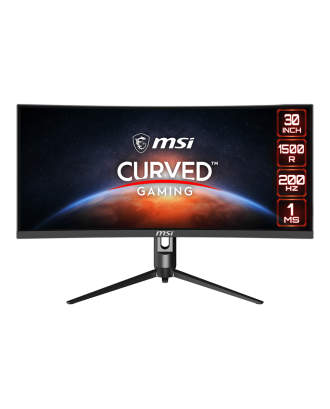 """MSI Curved Gaming MONITOR Optix MAG301CR2 29.5""""2560 x 1080(WFHD), 200Hz, 1ms"""