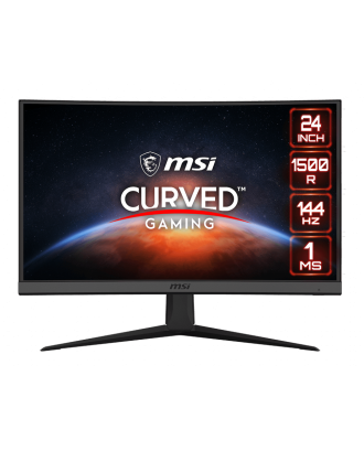 """MONITOR Optix G24C6 Curved Gaming  23.6"""" 1920 x 1080 (FHD) 144Hz,1ms"""