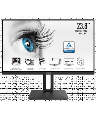 "MSI PRO MP242 Professional Monitor 23.8""FHD 5ms IPS"
