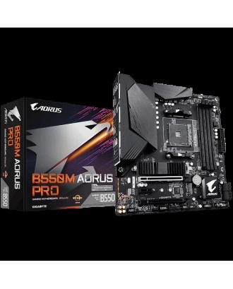 Aorus B550M AORUS PRO (LGA AM4 / Max Ram to  128GB )