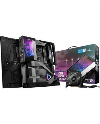 MEG Z590 GODLIKE (LGA 1200 / 4xDDR4 Slots / M.2 PCIe 4.0/ WiFi 6E + Bluetooth 5.2 )