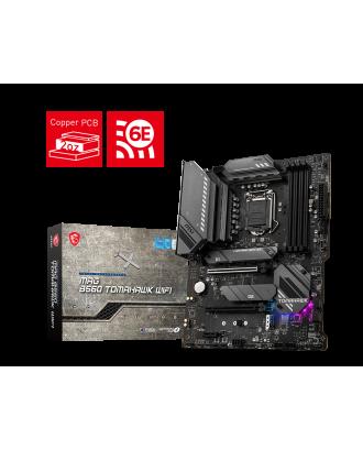 MSI B560 Tomahawk WIFI (LGA 1200 / 4xDDR4 Slots / M.2 PCIe 4.0 / WiFi 6E +Bluetooth 5.2 )