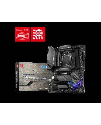 MSI Z590 Tomahawk WiFi (LGA 1200 / 4xDDR4 Slots / M.2 PCIe 4.0 / WiFi 6 + Bluetooth )