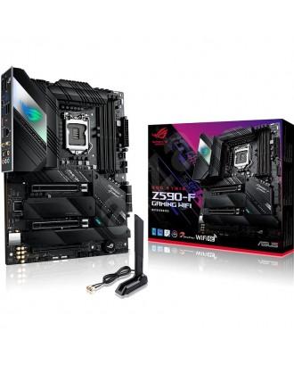 ROG STRIX Z590-F GAMING WIFI (LGA 1200 / 4xDDR4 Slots / M.2 PCIe 4.0 / WiFi 6 + Bluetooth 5.1)