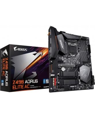 Z490 AORUS ELITE AC (LGA 1200 / 4xDDR4 Slots / M.2 PCIe 4.0 / wifi + Bluetooth )