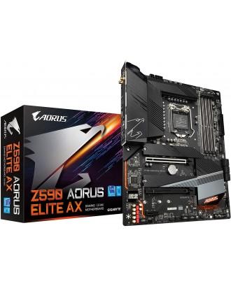 Z590 AORUS ELITE AX (LGA 1200 / 4xDDR4 Slots / M.2 PCIe 4.0 / wifi + Bluetooth )