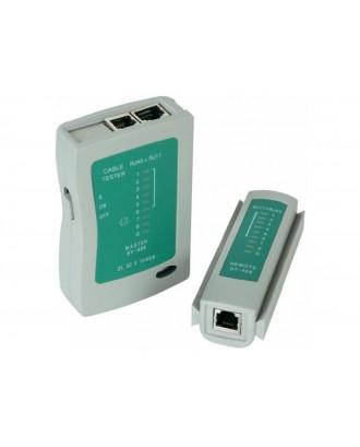 USB / LAN Cable Tester USB RJ45, RJ11,( SY-486 )
