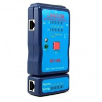 USB / LAN Cable Tester USB RJ45, RJ11,( SY-168 )...