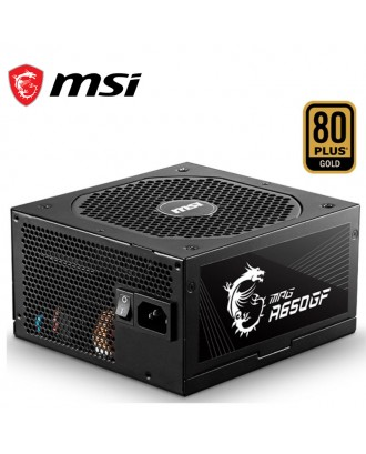 MSI MPG A650GF ( Max Power 650W/ 80 Plus Gold/Japanese Capacitor / Warranty 10 Years )