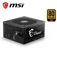 MSI MPG A750GF ( Max Power 750W/ 80 Plus Gold/Japa...