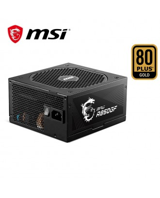 MSI MPG A850GF ( Max Power 850W/ 80 Plus Gold/Japanese Capacitor / Warranty 10 Years )