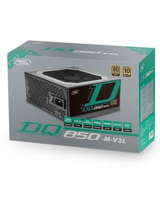 Deepcool DQ850-M-V2L ( Max Power 850W/ 80 Plus Gold/Japanese Capacitor / Full Modular )
