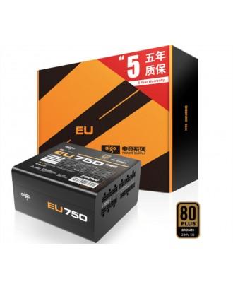 Aigo EU750 ( Max Power 750W/ 80 Plus Bronze /Full Modular )