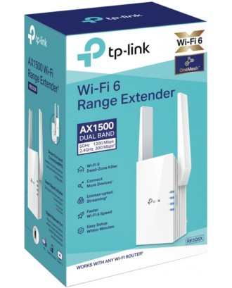 Tp link RE505X AX1500 Wi-Fi 6 Range Extender