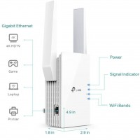 Tp link RE505X AX1500 Wi-Fi 6 Range Extender ...