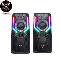 ONIKUMA G6 Wired RGB Gaming Speakers...
