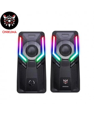 ONIKUMA G6 Wired RGB Gaming Speakers