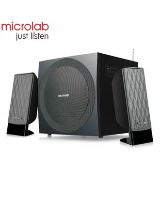 Microlab Speaker M300BT( use,SD,Bluetooth,FM ) (38watt)