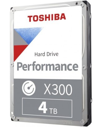 "Toshiba X300 4TB ( 3.5"" / 7200rpm / Cache 128MB )"