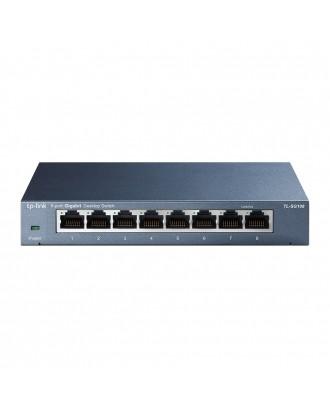 Tp link TL-SG108 8-Port 10/100/1000Mbps Gigabit Desktop Switch