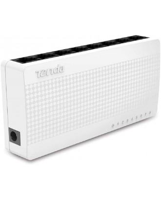 Tenda S108 8 Port Desktop Ethernet Network Switch 10/100Mbps