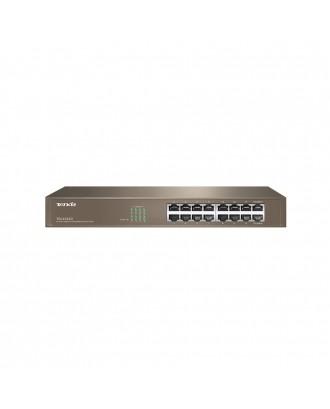 "TendaTEG1016D 16-Port 10/100/1000 Gigabit Switch (13"")"